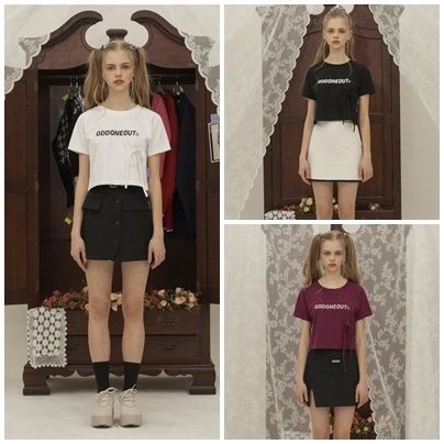 Short Street Style Short Sleeves T-Shirts