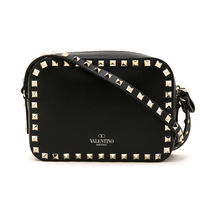 VALENTINO Casual Style Leather Shoulder Bags