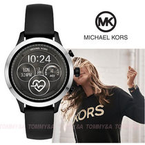 Michael Kors Casual Style Unisex Blended Fabrics Silicon Round