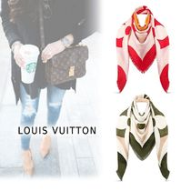 Louis Vuitton 2019-20AW SHAWL KELEIDO GRAM 2colors onesize Accessories