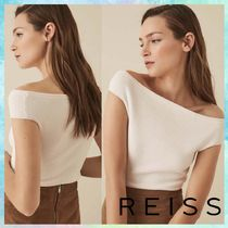 REISS Plain Bandeau & Off the Shoulder