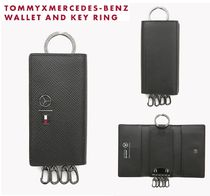 Tommy Hilfiger Collaboration Leather Keychains & Holders
