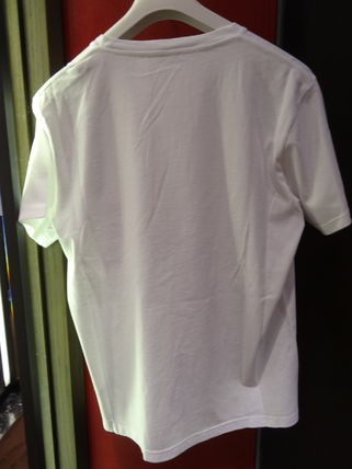 MONCLER More T-Shirts Street Style Collaboration Plain Cotton Short Sleeves 3