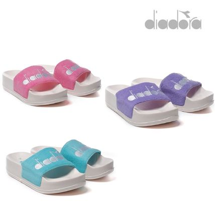 Open Toe Platform Casual Style Slippers Slip-On Shoes