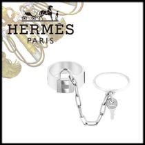 HERMES Street Style Chain Home Party Ideas Silver Elegant Style