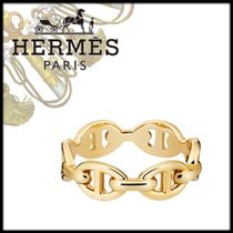 HERMES Street Style Chain Home Party Ideas Elegant Style Rings