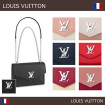 Louis Vuitton LOCKME 2WAY Leather Shoulder Bags