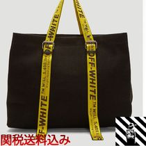 Off-White Casual Style Totes
