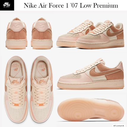 Nike AIR FORCE 1 2019 20AW Street Style Low Top Sneakers