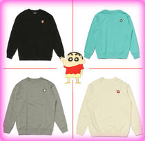 SPAO Unisex Collaboration Cotton Hoodies & Sweatshirts