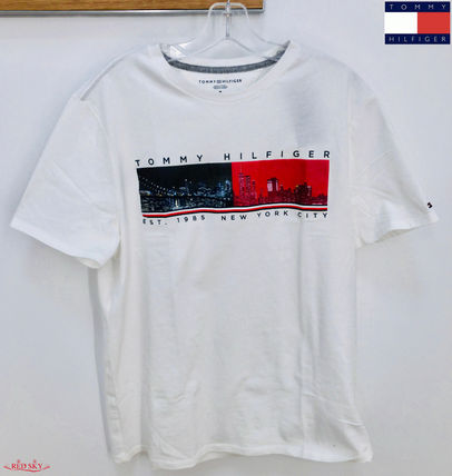 Tommy Hilfiger More T-Shirts Street Style Short Sleeves T-Shirts