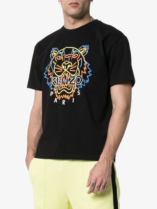 KENZO Crew Neck Crew Neck Other Animal Patterns Cotton Short Sleeves 4