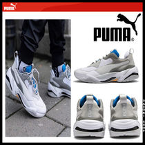 PUMA THUNDER SPECTR Unisex Street Style Leather Low-Top Sneakers