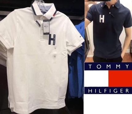 Tommy Hilfiger Polos Street Style Plain Polos