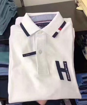 Tommy Hilfiger Polos Street Style Plain Polos 6