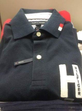 Tommy Hilfiger Polos Street Style Plain Polos 8