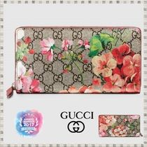 GUCCI GG Supreme Long Wallets