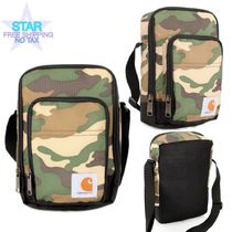 Carhartt Camouflage Casual Style Unisex Shoulder Bags