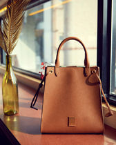 COURONNE Street Style Plain Totes