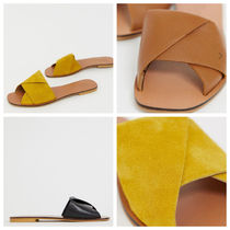 ASOS Open Toe Casual Style Suede Plain Sandals