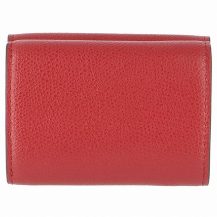 FENDI Folding Wallets Monogram Leather Folding Wallets 3
