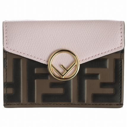 FENDI Folding Wallets Monogram Leather Folding Wallets 7
