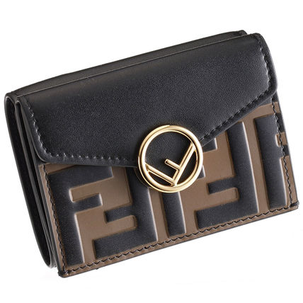 FENDI Folding Wallets Monogram Leather Folding Wallets 20