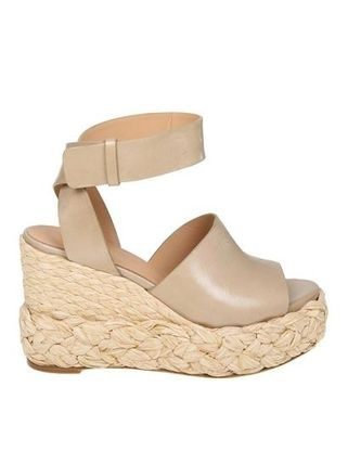Plain Leather Handmade Platform & Wedge Sandals
