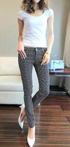 Glen Patterns Other Plaid Patterns Casual Style Cotton Long