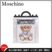Moschino Casual Style 2WAY Other Animal Patterns PVC Clothing