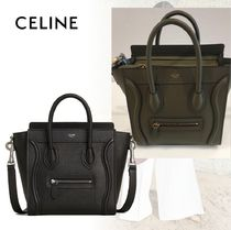 CELINE Luggage Calfskin 2WAY Handbags