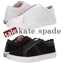 kate spade new york Lace-up Plain Slip-On Shoes