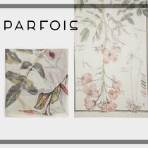PARFOIS Flower Patterns Casual Style Lightweight Scarves & Shawls