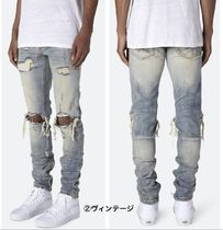MNML More Jeans Street Style Plain Cotton Jeans 4