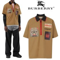 Burberry Street Style Cotton Short Sleeves Shirts