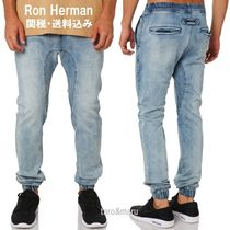 Ron Herman Street Style Plain Cotton Joggers Jeans & Denim