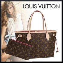 Louis Vuitton MONOGRAM Monogram Bi-color Leather Totes