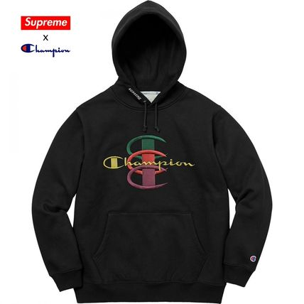 Unisex Street Style Collaboration Hoodies