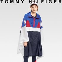 Tommy Hilfiger Star Unisex Street Style Long Ponchos & Capes
