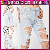 DOLLS KILL Casual Style Denim Plain Denim & Cotton Shorts