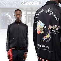 MONCLER Short Flower Patterns Unisex Street Style Collaboration