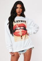 Missguided Street Style Collaboration Long Sleeves Cotton Long