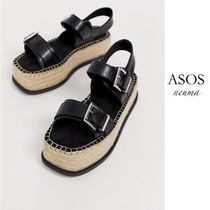 ASOS Casual Style Blended Fabrics Street Style Sandals
