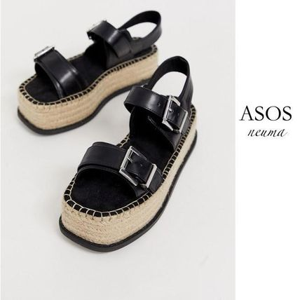 Casual Style Blended Fabrics Street Style Sandals