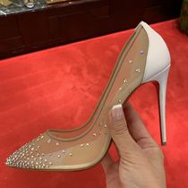 Christian Louboutin Blended Fabrics Pin Heels Party Style