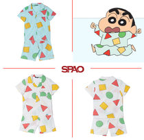 SPAO Unisex Collaboration Home Party Ideas Kids Girl Roomwear