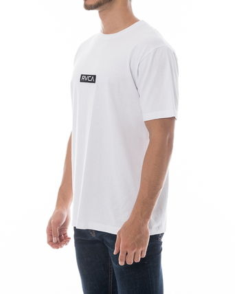 RVCA More T-Shirts Unisex Plain Short Sleeves T-Shirts 2