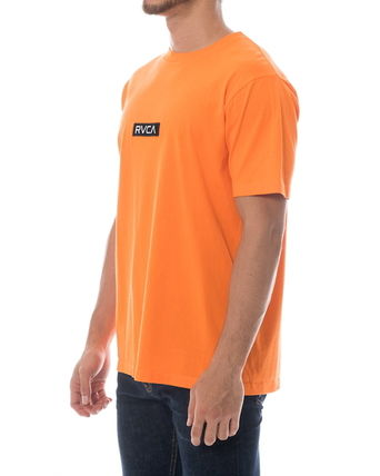 RVCA More T-Shirts Unisex Plain Short Sleeves T-Shirts 8