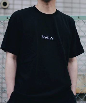 RVCA More T-Shirts Unisex Plain Short Sleeves T-Shirts 13