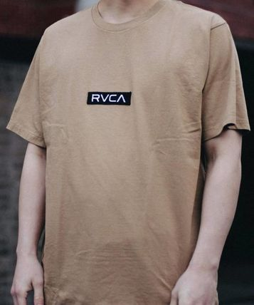RVCA More T-Shirts Unisex Plain Short Sleeves T-Shirts 14